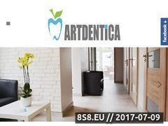 Miniaturka gabinetartdentica.pl (Implanty Konstantynów Łódzki)
