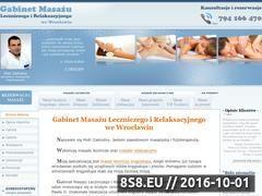 Miniaturka domeny www.gabinetmasazu.wroclaw.pl