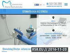Miniaturka domeny www.gabinetstomatologiczny.olsztyn.pl