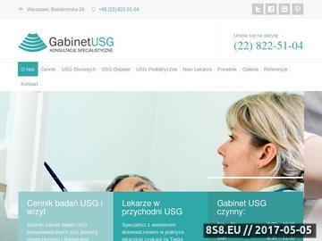 Zrzut strony Prywatna przychodnia lekarska USG Doppler