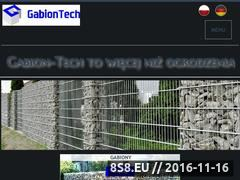 Miniaturka domeny www.gabion-tech.pl