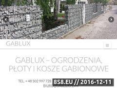 Miniaturka domeny gablux.pl