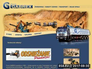 Zrzut strony Gabrex Gabriel Regliński transport