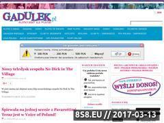 Miniaturka domeny www.gadulek.pl