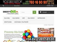 Miniaturka domeny www.gadzety365.pl