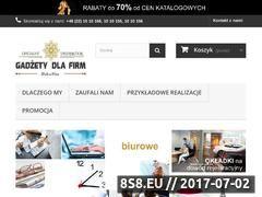 Miniaturka domeny gadzetydlafirm.com.pl