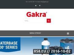 Miniaturka domeny www.gakra.pl