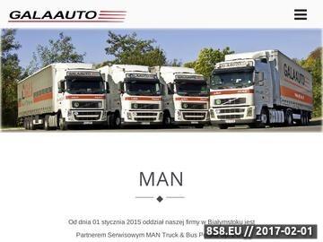 Zrzut strony GALAAUTO przewóz towarów