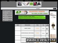 Miniaturka domeny www.galanteriadodatki.e-trade24.pl