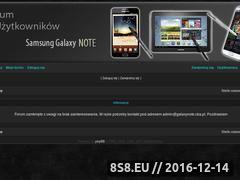 Miniaturka domeny galaxynote.cba.pl