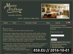 Miniaturka domeny www.galeria-mad.pl