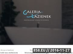Miniaturka domeny www.galerialazienek.pl