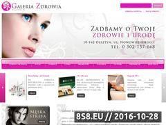 Miniaturka domeny www.galeriazdrowia.olsztyn.pl