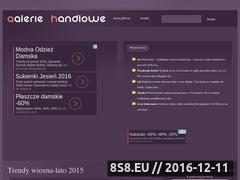 Miniaturka domeny galerie-handlowe.a2a.pl