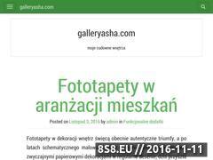 Miniaturka domeny galleryasha.com