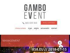 Miniaturka gambo-event.pl (Organizacja imprez)