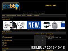 Miniaturka domeny www.gamerland.pun.pl