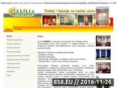 Miniaturka domeny www.gamma.szczecin.pl