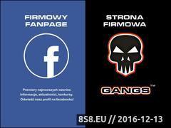 Miniaturka domeny www.gangs.pl