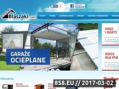 Miniaturka domeny www.garaze-blaszane.pl