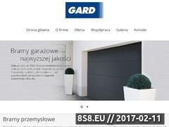Miniaturka domeny www.gard.net.pl