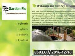 Miniaturka domeny www.gardenflo.pl