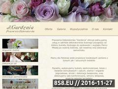 Miniaturka domeny www.gardenia-dekor.pl
