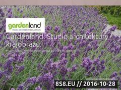 Miniaturka domeny www.gardenland.pl