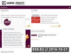 Miniaturka domeny www.gardeprofit.pl
