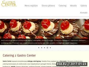 Zrzut strony Catering Warszawa - imprezy i wesela - organizacja