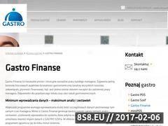Miniaturka domeny gastrofinanse.pl