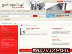 Miniaturka domeny www.gastropolis.pl