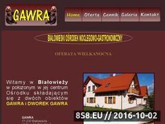 Miniaturka domeny www.gawra.puszcza-bialowieska.eu