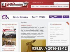 Miniaturka domeny www.gazeta-mosina.pl