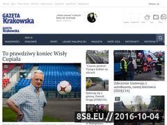 Miniaturka domeny www.gazetakrakowska.pl