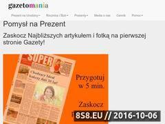 Miniaturka domeny gazetomania.pl