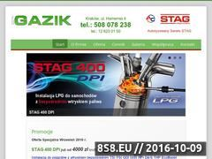 Miniaturka domeny gazik.com.pl