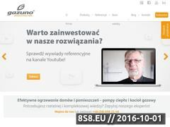 Miniaturka domeny www.gazuno.pl