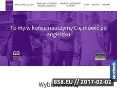 Miniaturka domeny gbenglish.pl