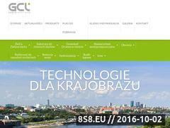 Miniaturka domeny www.gcl.com.pl