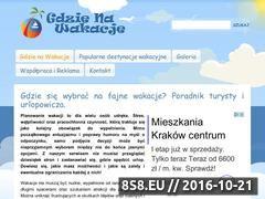Miniaturka domeny gdziewakacje.com.pl
