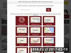 Miniaturka domeny www.gdziezjesc.info