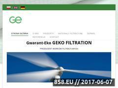 Miniaturka domeny gekofiltration.pl