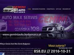 Miniaturka domeny www.geminiauto.bydgoszcz.pl