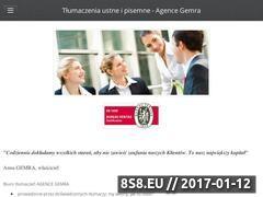 Miniaturka domeny www.gemra.pl