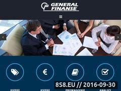 Miniaturka Usługi finansowe, biuro rachunkowe i biuro księgowe (www.generalfinanse.com.pl)