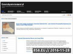 Miniaturka domeny www.generalgouvernement.pl