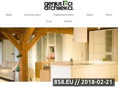 Miniaturka genius-loci.pl (Projektowanie i aranżacja wnętrz w Katowicach)