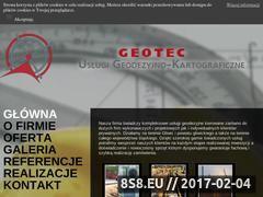 Miniaturka domeny www.geo-tec.pl