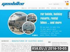 Miniaturka domeny www.geobike.com.pl